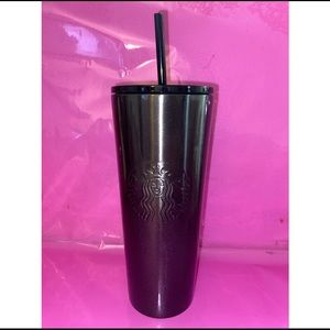🌟 Starbucks black glitter stainless steel cup 🌟